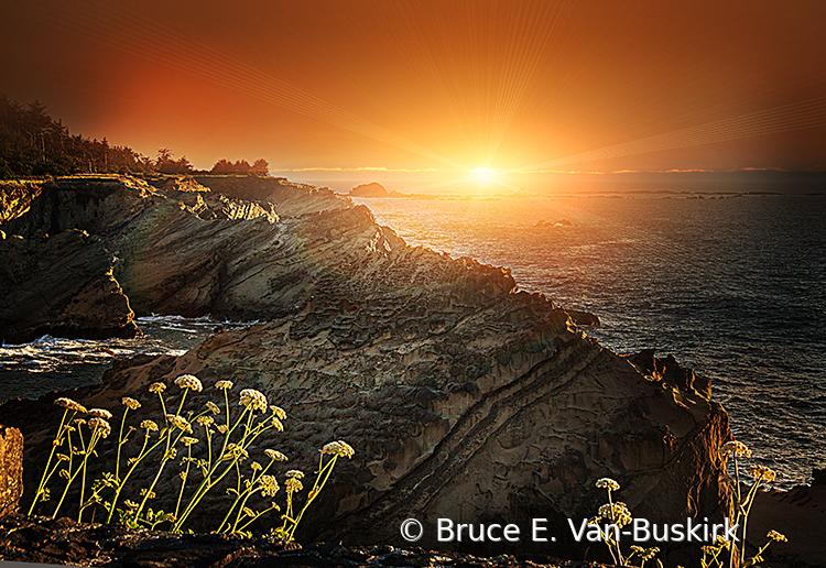 Golden hour in Oregon - ID: 15927996 © Bruce E. Van-Buskirk