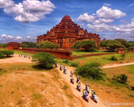 Travelling to Bagan