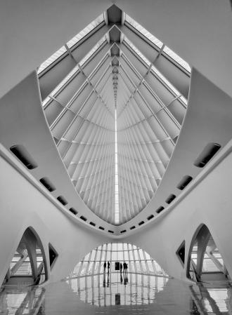 INSIDE THE MILWAUKEE ART MUSEUM ~ ~  ~ ~
