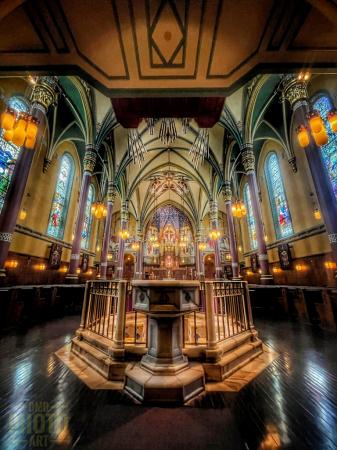 ~ ~ INSIDE THE CHURCH ~ ~