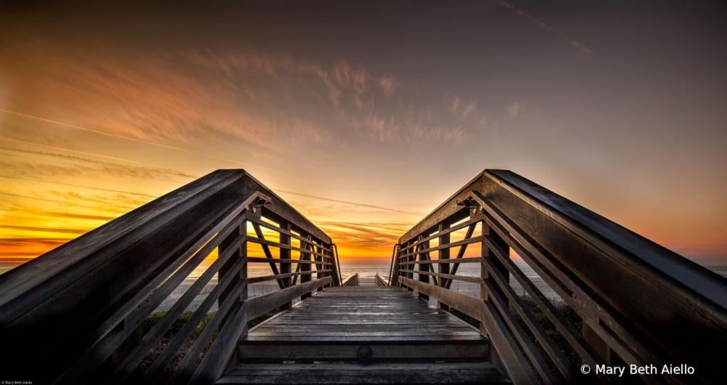 Crossing the Boardwalk