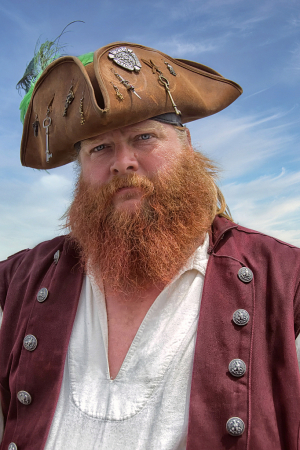 Bue Beard's Cousin...Red Beard