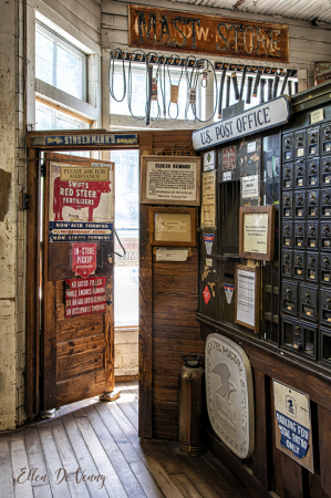 The Post Office at Valle Crucis, NC