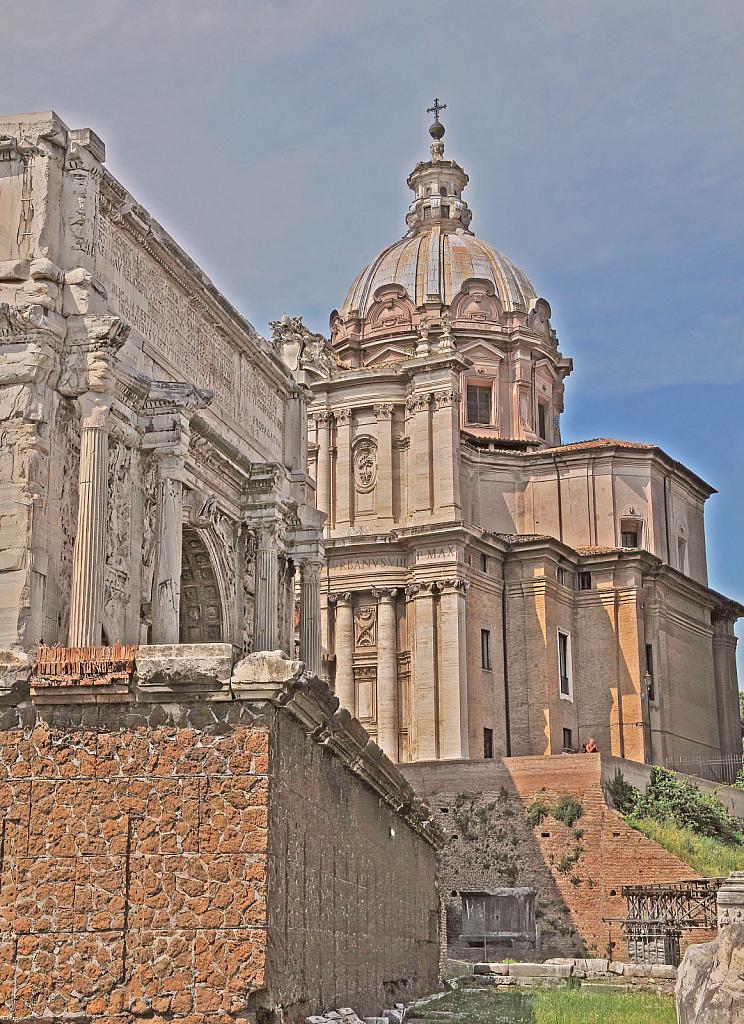 Roman Forum View - ID: 15931985 © William S. Briggs