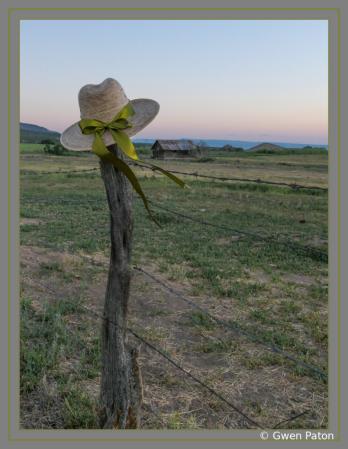 Hat on Post