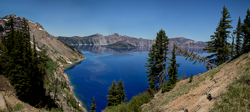 Fire and Ice.  Crater Lake National Park