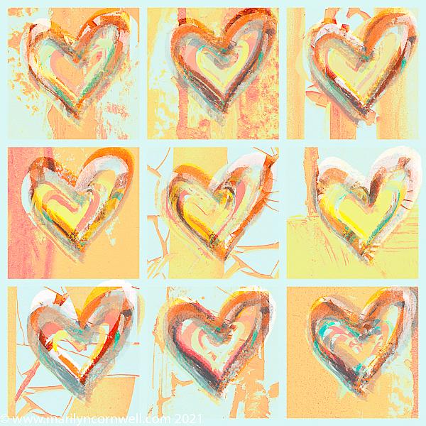 ORNG Hearts - ID: 15934554 © Marilyn Cornwell