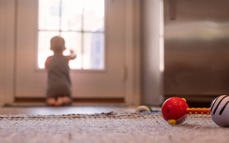 Young child's curiosity about the world