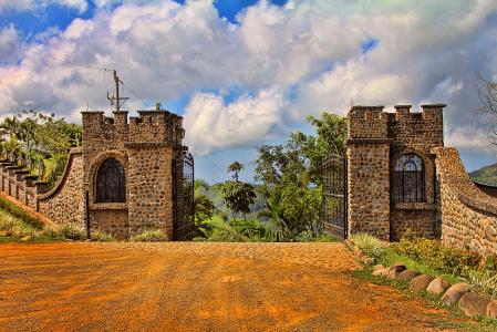 Costa Rica Gate