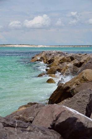 Pensacola Beach is G. G. Leger