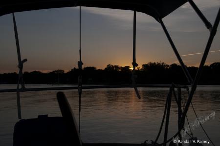 Sun-up at Raft-up...