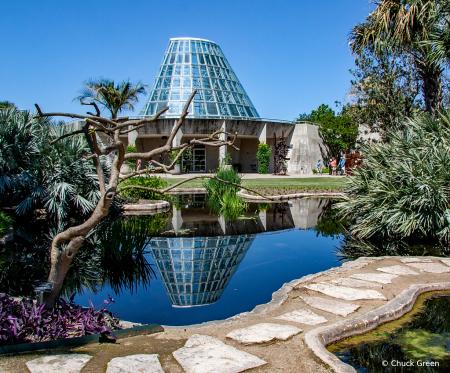 Greenhouse Reflection
