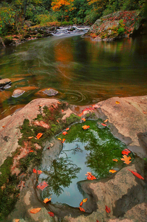 Photography Contest Grand Prize Winner - July 2021: Water Window, the Highlands of NC