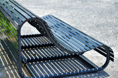 A BENCH AND ITS SHADOW