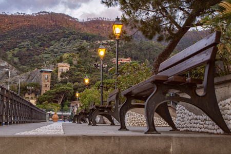 Early Morning in Monterosso