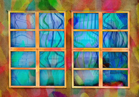 Reflective Techno Glass