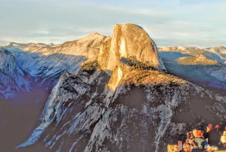 Yosemite Sunst at Glacier Point