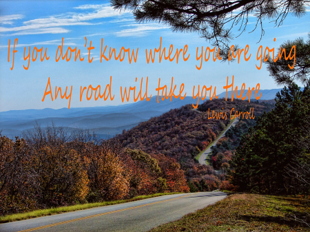 If You Don't Know Where You Are Going...