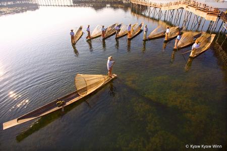 Fishermen from Inle Lake