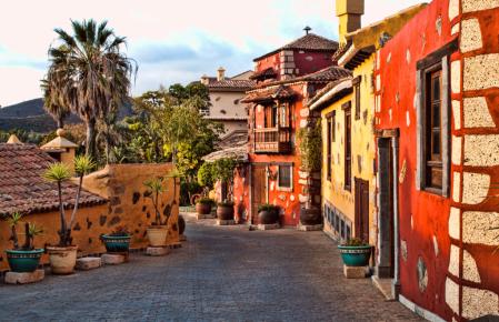 Small Street in Spain