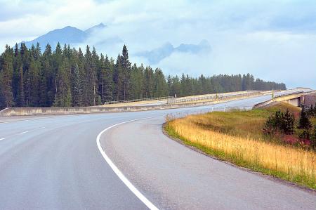Bending through the Rockies