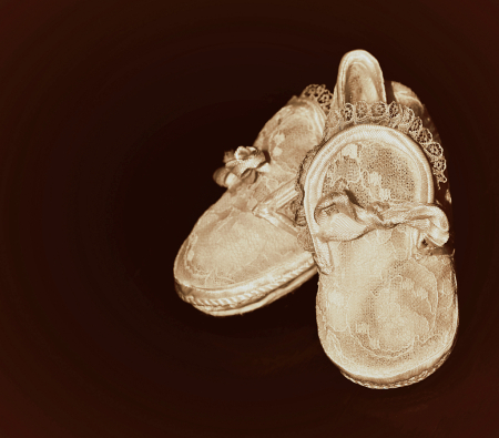 baby`s shoes