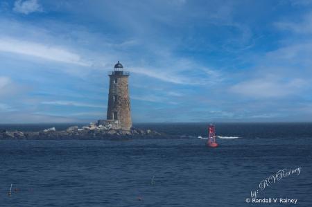 Whaleback Lighthouse . . .