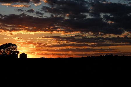 Sunset, Autumnal Equinox