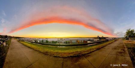 Fisheye Pano Sunset