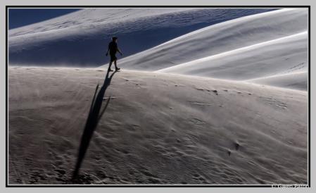 Hiker at Dawn