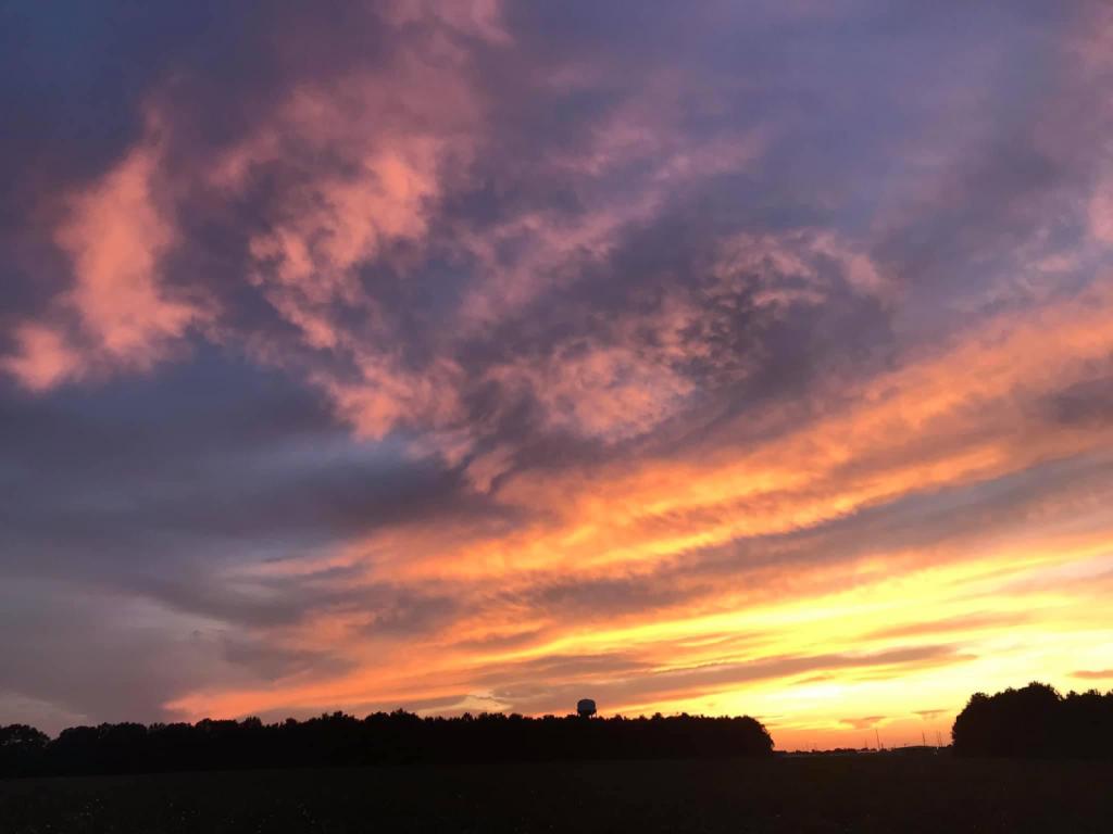 Colorful sunset - ID: 15951485 © Elizabeth A. Marker