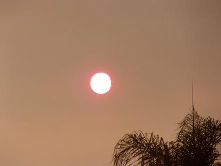 Smoke Covered Sun