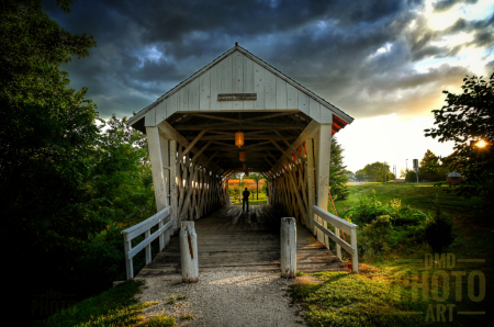 ~ ~ THE PERSON AT THE END OF THE BRIDGE ~ ~