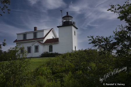 Fort Point Lighthouse...