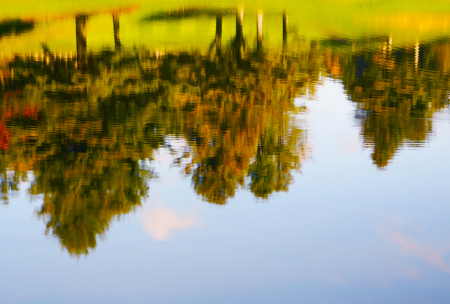 Reflection - Not Upside Down