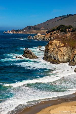 Big Sur - Sand, Rocks and Sea