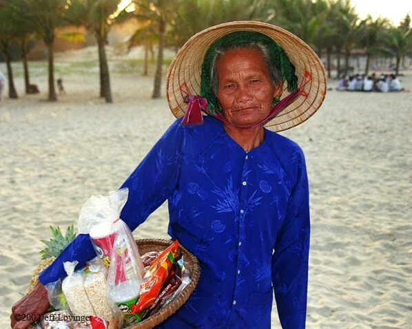 Hoi An Beach Vendor