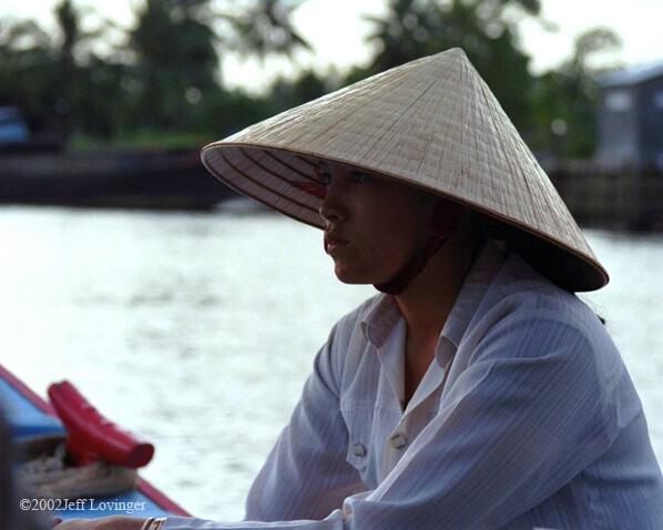 Mekong Boat Woman