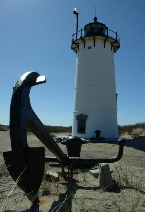 Lighthouse and Anchor