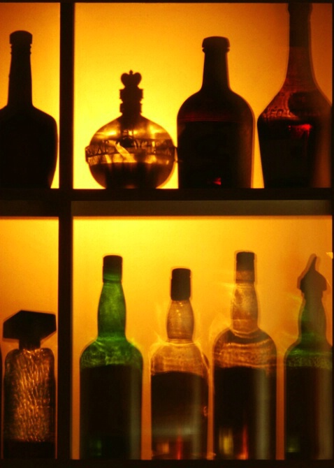 Diffused Bottles