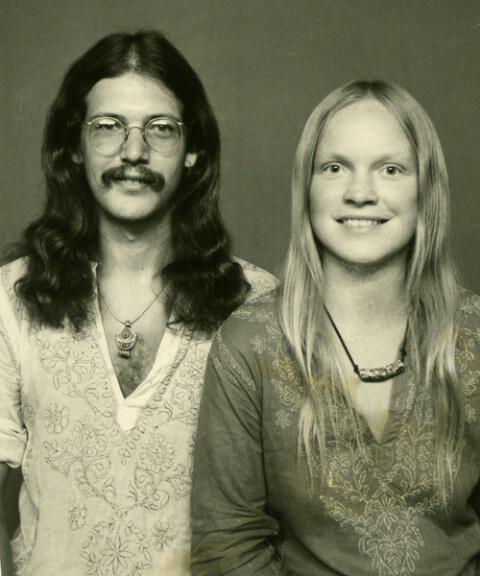 Jeff and Gurli, Goa, India, circa 1974