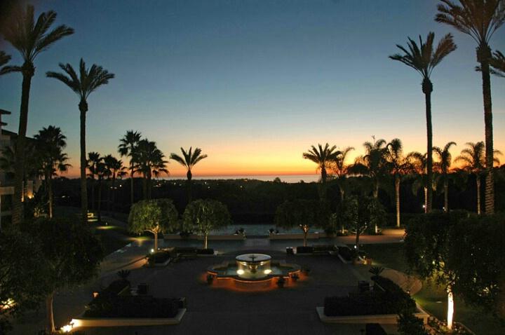 Four Seasons Resort At Night