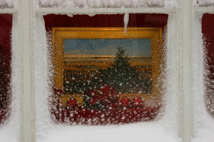 Holiday Picture Window