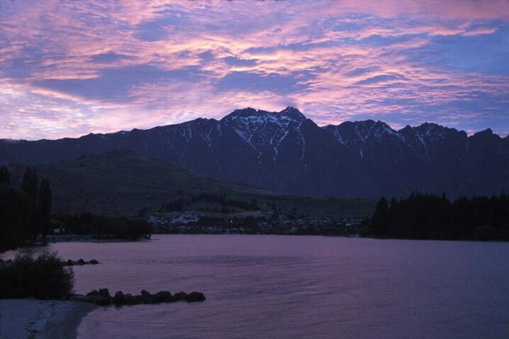 Lake Wakatipu at Dawn