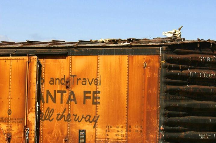 Santa Fe Boxcar
