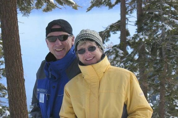 Paul & Linda at Homewood Mountain Resort