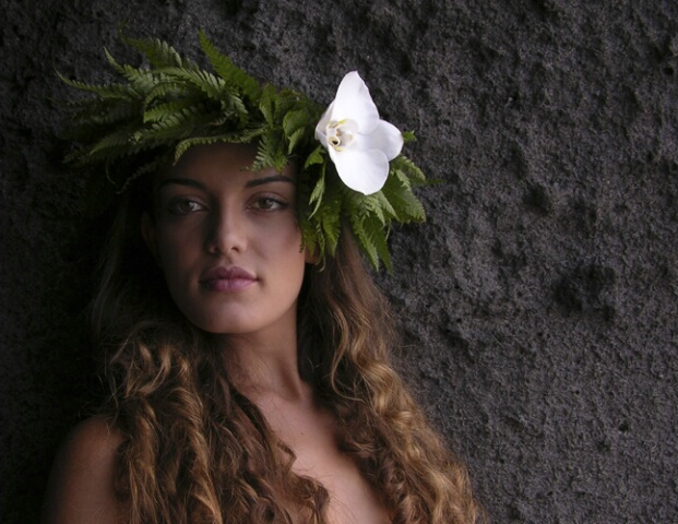 Pauahi with One Orchid