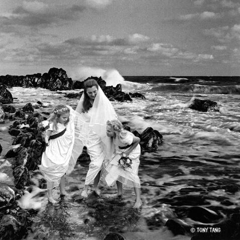A Bride on the Ocean wave