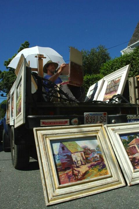 Artist at Work, Provincetown