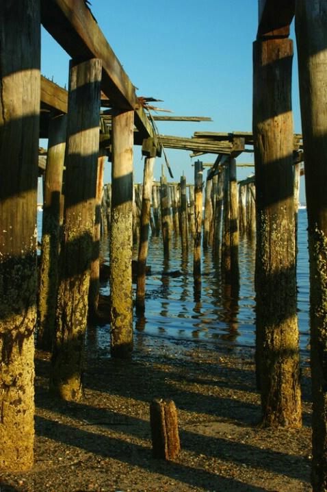 Caution, Broken Pier